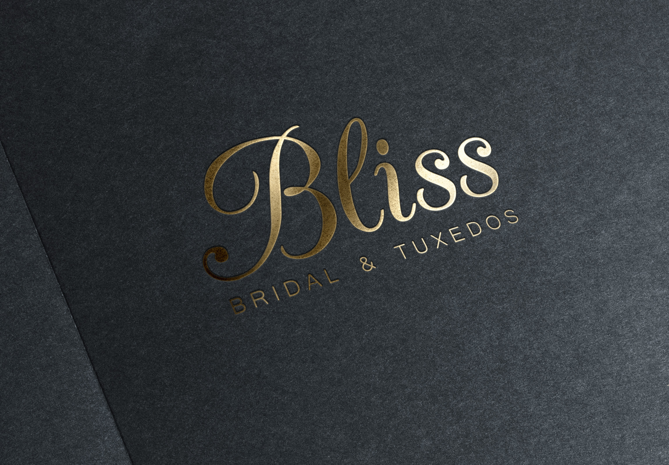Bliss Bridal Logo Mockup