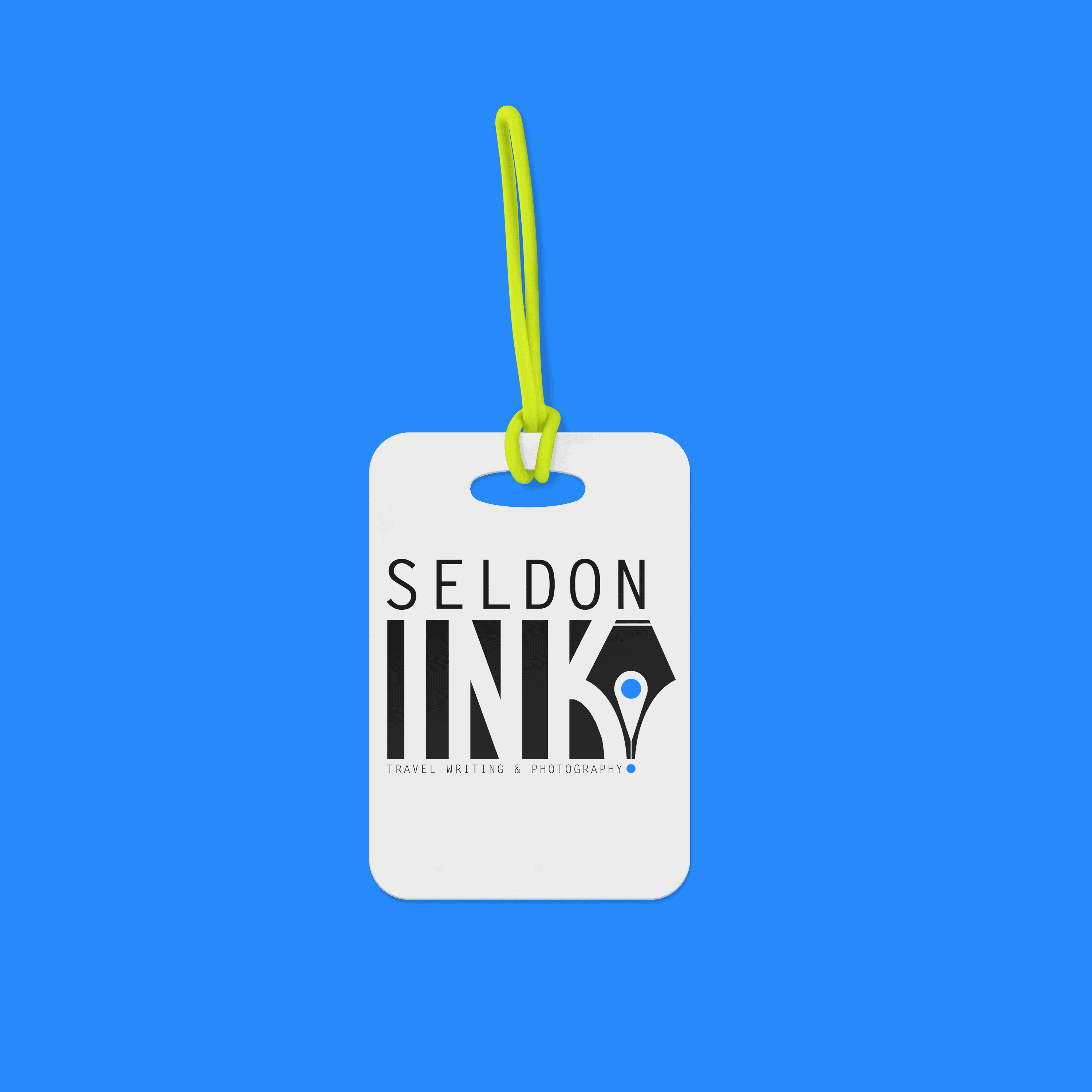 Seldon Ink Logo Luggage Tag